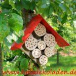 Insektenhotel zum selber bauen von Holzdekoladen.de