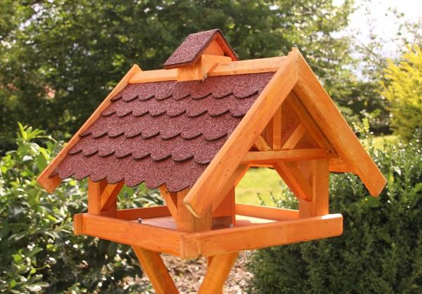 Großes Vogelhaus mit Solarlicht Typ 34
