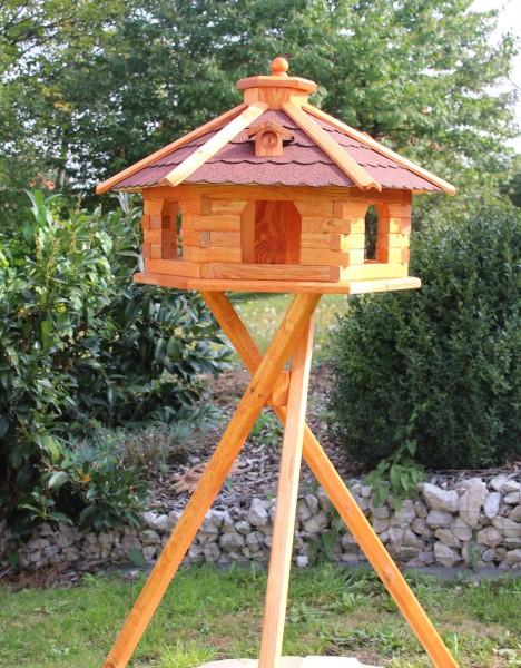 XXL Luxusvogelhaus mit Holzständer Typ 5.1