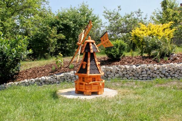 Holzwindmühle mit Gauben Typ 11.1