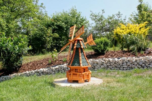 Gartenwindmühle mit Solar Typ 11