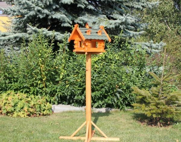 Vogelhaus mit Ständer Typ 8