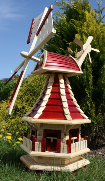 Windmühle rot/natur Typ 2