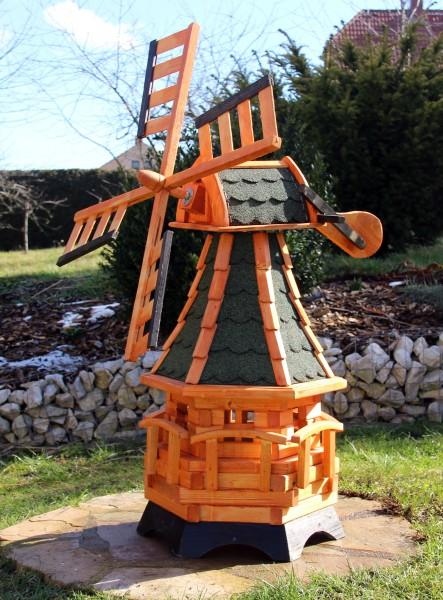 Gartenwindmühle mit Solar Typ 19