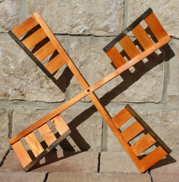 Windmühlenflügel behandelt 65 cm
