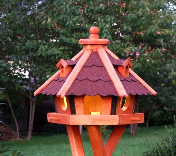 Vogelhaus mit Solarlicht Typ 24