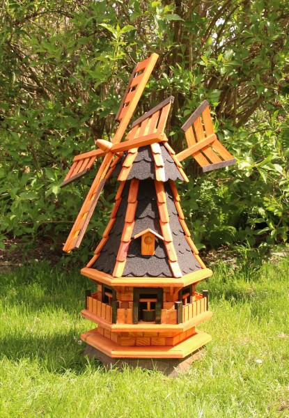 Schöne kleine Windmühle mit Windfahne Typ 4.1