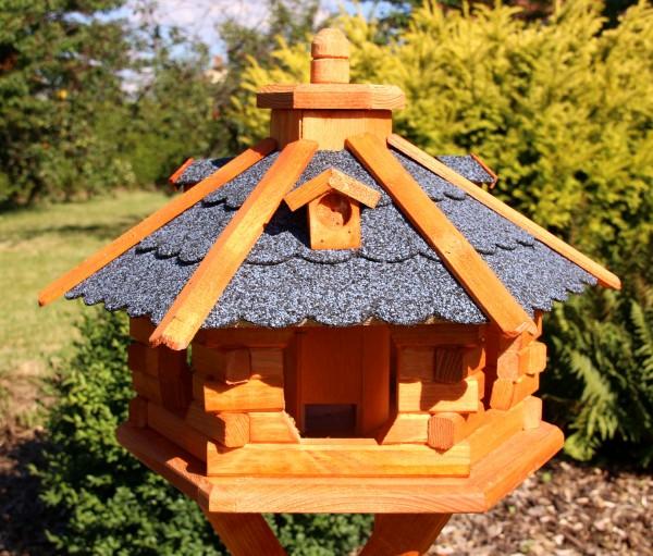 Vogelhaus mit Solarbeleuchtung Typ 4