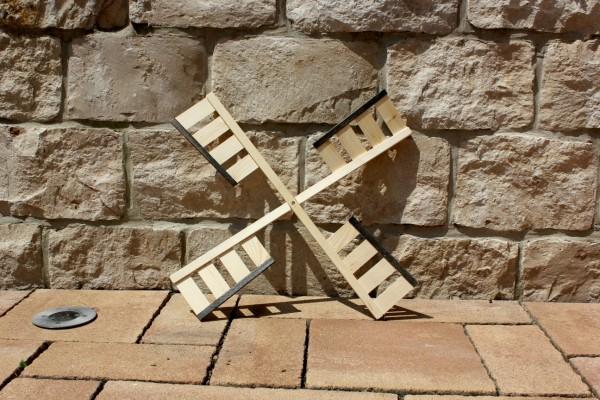 Windmühlenflügel natur/braun 65 cm