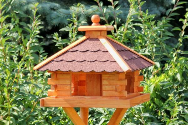 Rechteckiges Vogelhaus Typ 9