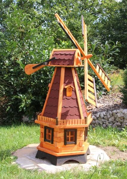 Holländische Gartenwindmühle mit Solar Typ 22.1