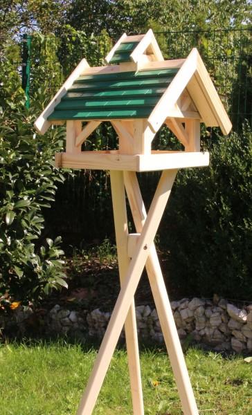 Holzvogelhaus mit Ständer Typ 35