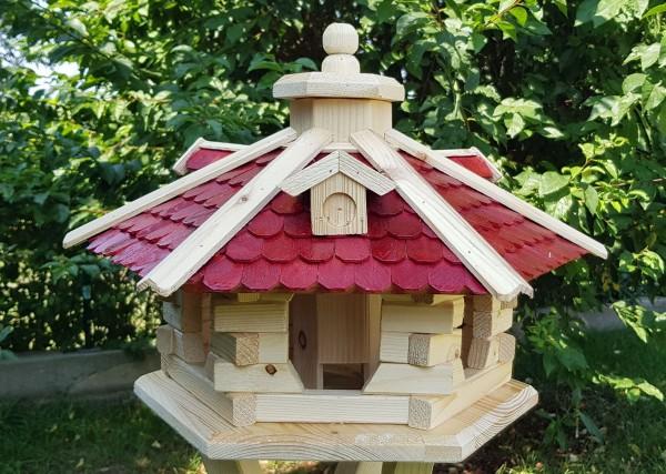 Vogelhaus mit Holzschindeln Typ 37