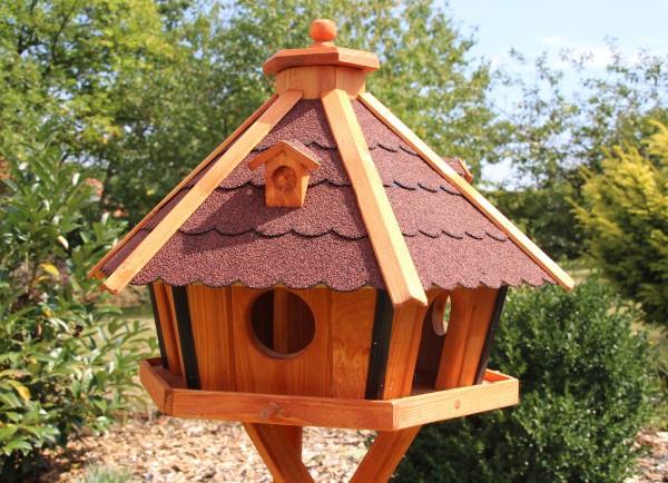 MAXI Vogelhaus mit Solarlicht Typ 25