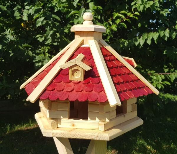 Vogelhaus aus Holz Typ 42