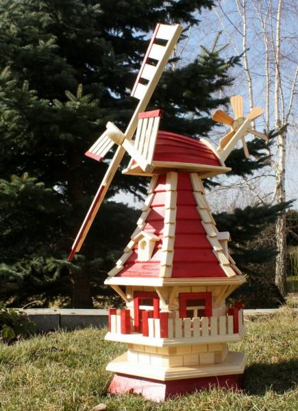 Holzwindmühle mit Dachgauben Typ 2.1