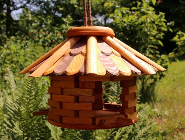 Achteckiges Vogelhaus zum hängen Typ 30