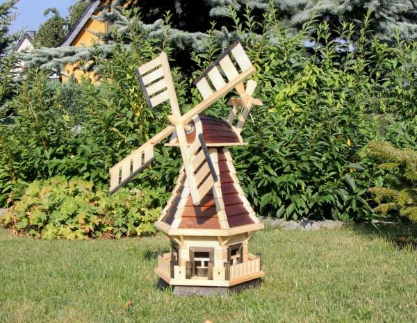 Preisgesenkte Windmühle mit Solarbeleuchtung Typ 1