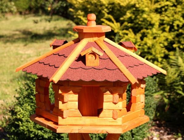 Großes Holzvogelhaus Typ 5 (preisreduziert)