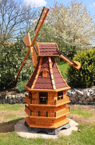1,50 m große XXL Gartenwindmühle Typ 21.1