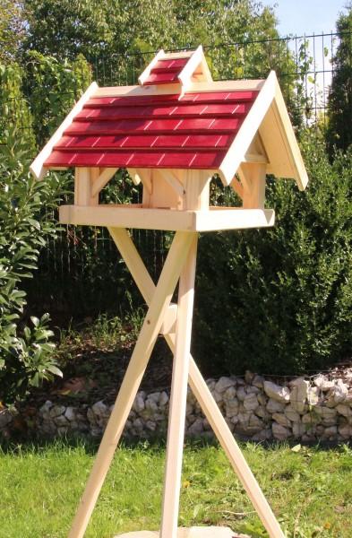 MAXI Holzvogelhaus mit Ständer Typ 36
