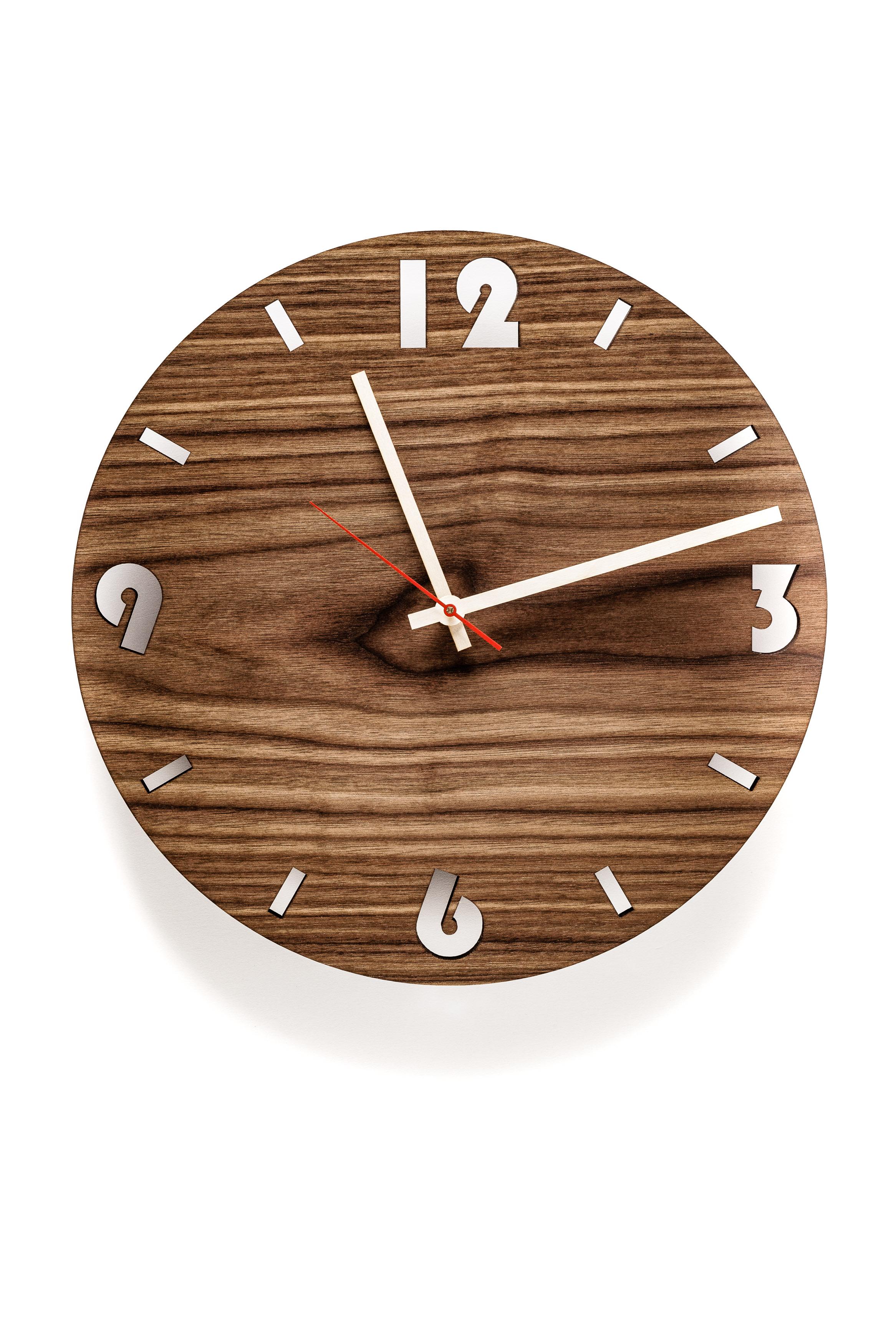 Holzmaserung Hervorheben wanduhren aus echtholz holzdekoladen de