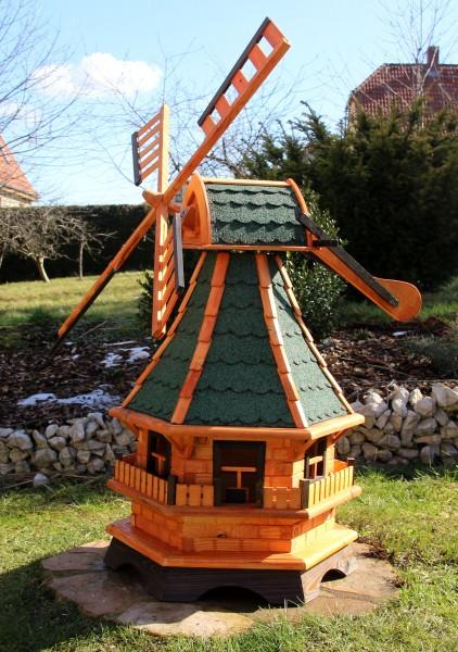Massive Windmühle mit Beleuchtung Typ 18