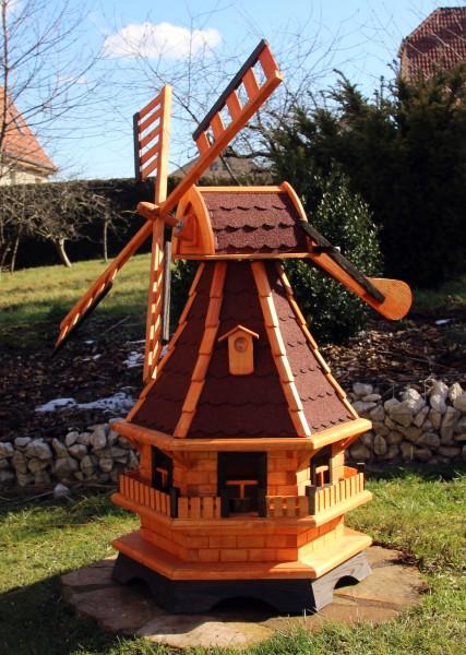 Große Windmühle mit Solarlicht Typ 18.1