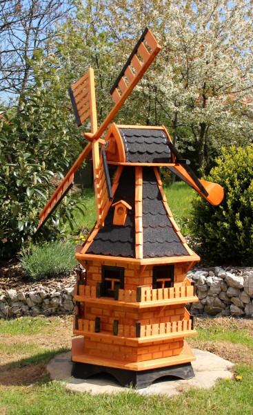 1,50 m große XXL Windmühle mit Solar Typ 21.1