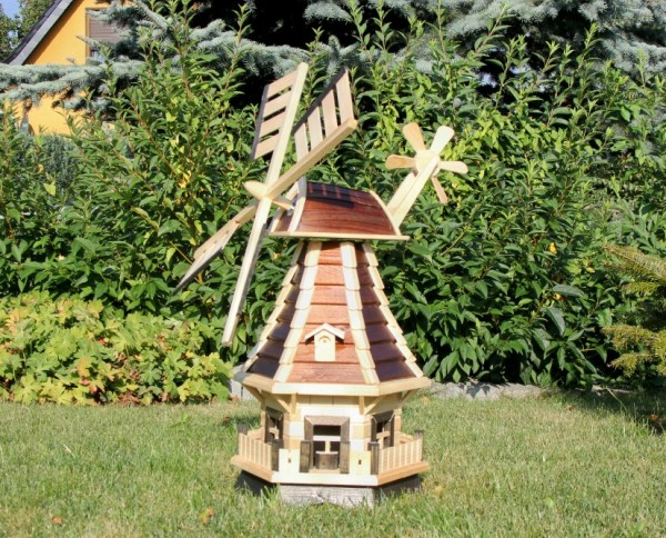 Windmühle mit Solarbeleuchtung Typ 1.1