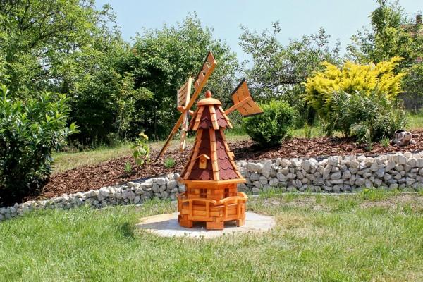 Gartenwindmühle mit Solar Typ 11.1